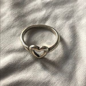 RETIRED - James Avery heart ring